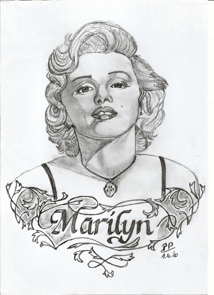 Marilyn Monroe por Patoux